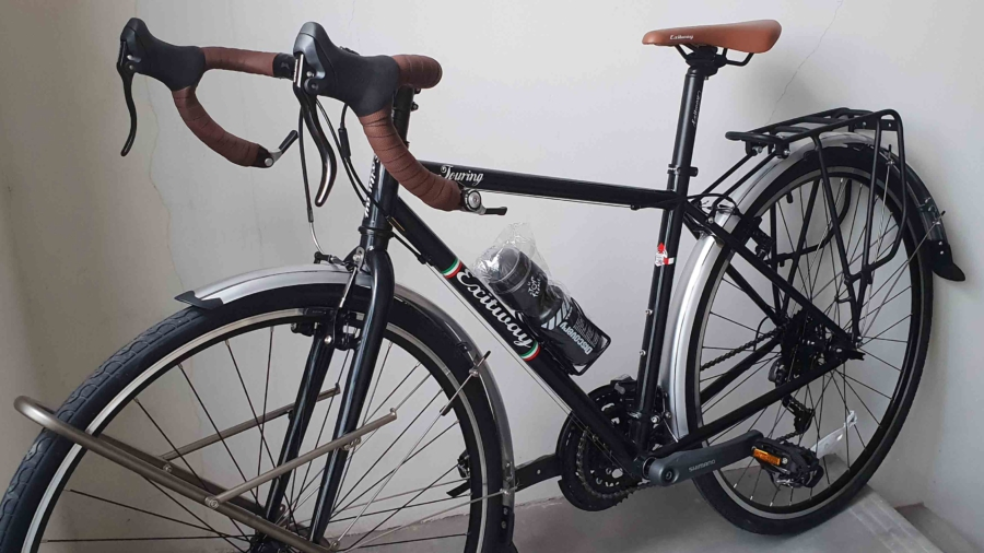 de nieuwe fiets - 16 jan 2019