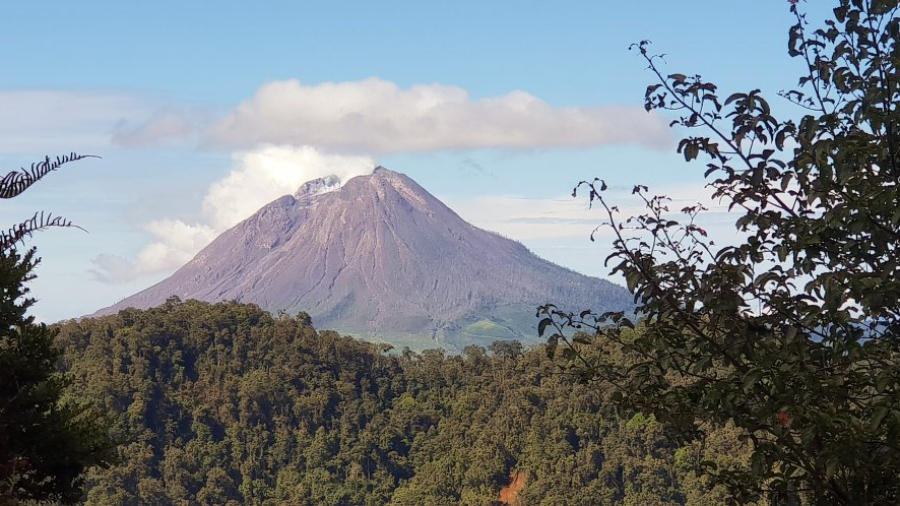vulkaan Sibayak